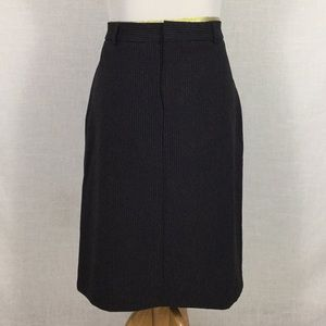 Gap pinstripe pencil skirt - perfect basic!